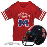 Ole Miss Rebels Franklin Sports Youth Helmet and Jersey Set - No Size