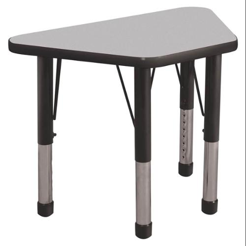 Activity Table in Gray and Black (30 in. W x 18 in. D x 15 in. - 24 in. H (22 lbs.))