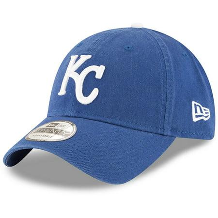Kansas City Royals New Era Game Replica Core Classic 9TWENTY Adjustable Hat - Royal - OSFA - Kansas City Royals Hats