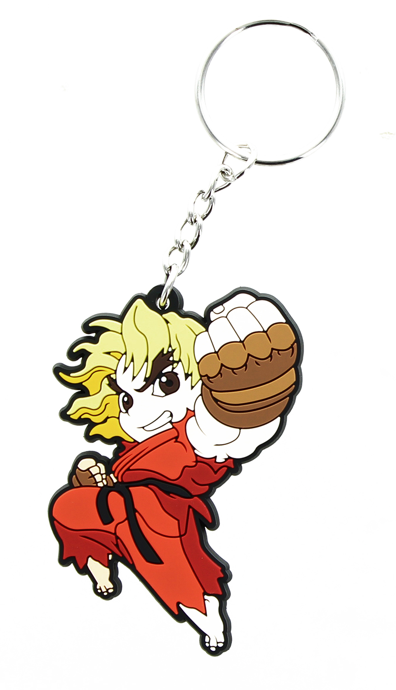 Street Fighter Chibi Key Chain Ken