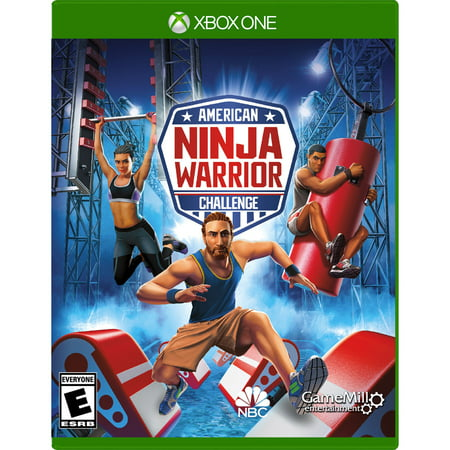 American Ninja Warrior, Gamemill, Xbox One, 856131008039