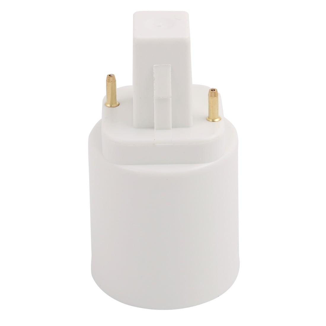 Unique BargainsG24 to E27 Light Socket, Bulb Base Adapter Converter, Commutator 10Pcs - image 2 of 4