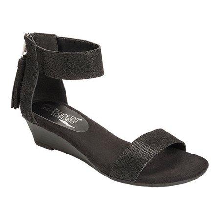 ae0b73c76e1 Aerosoles - Aerosoles Women s Yetroactive Ankle-Strap Sandal - Walmart.com