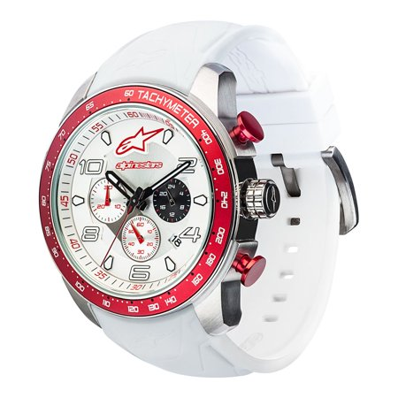 ALPINESTARS Mens Chronograph Quartz Watch with Silicone Strap 1037-96002