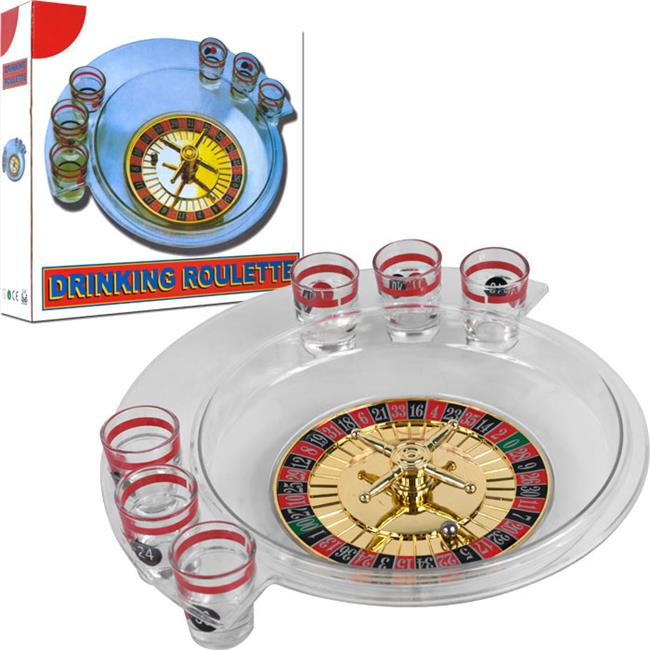 Trademark Poker The Spins Roulette Drinking Game by TGT