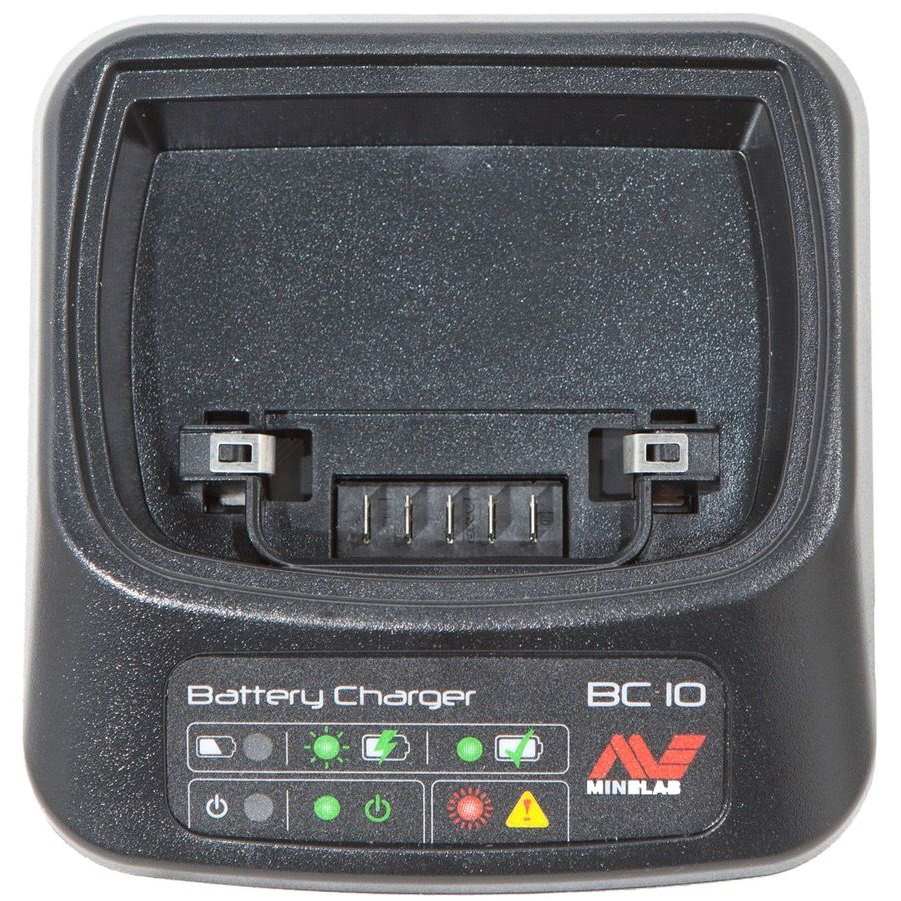 Minelab CTX 3030 & GPZ 7000 Charger Station for Li Battery & Wireless Module