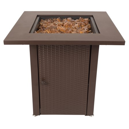 Pleasant Hearth OFG007TF Grant Gas Fire Pit Table