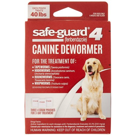 Excel 8in1 Safe-Guard Canine Dewormer for Large Dogs, 3-Day -