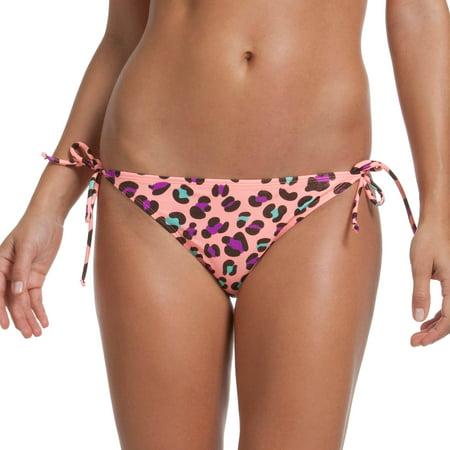 Op Juniors Swim Leopard Print Triangle Bikini Bottom