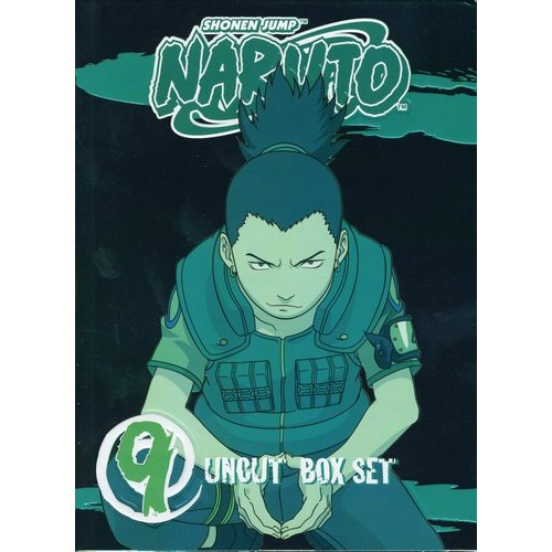 Naruto Uncut Box Set, Vol. 9