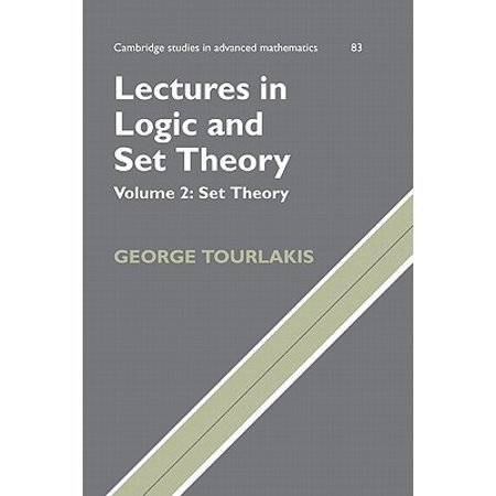 Lectures In Logic And Set Theory Volume 2 Set Theory border=