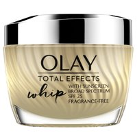 Olay Total Effects Whip Face Moisturizer SPF 25 Fragrance-Free 1.7 oz