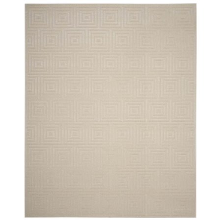 Area Rug In Cream And Beige  5 Ft  3 In  L X 3 Ft  3 In  W