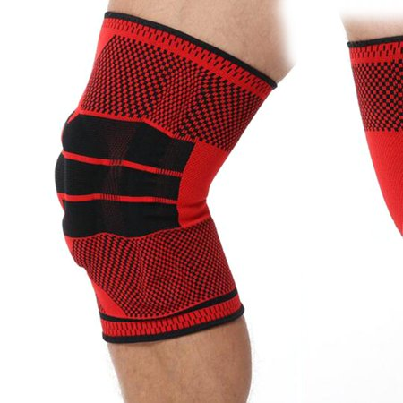Full Knee Protector Autumn Winter Full Season Elastic Breathable Knee Pads Relief Prevent Sports Knee Support Brace - image 2 de 6