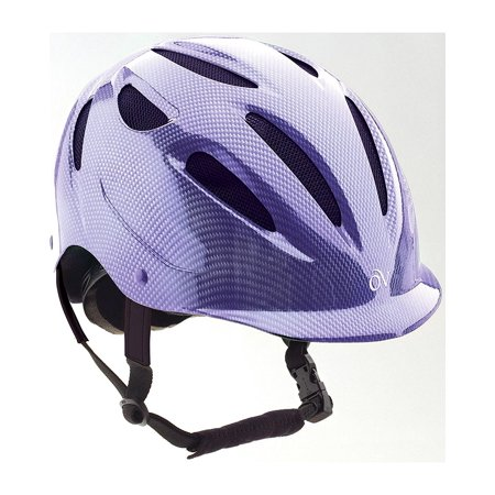 Women's Protege Riding Helmet - 467716Gra, Leather..., By Ovation Ship from US (Ovation Stirrup Leathers)