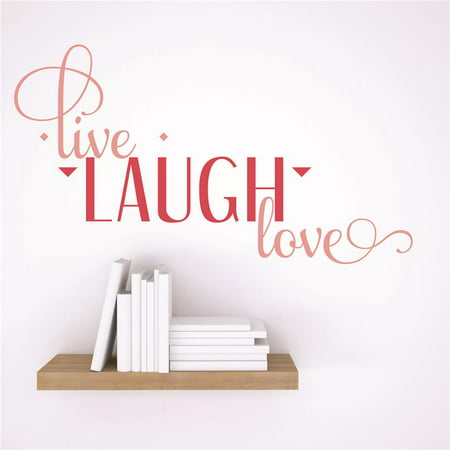 Custom Designs Live Laugh Love Quote 15x15\