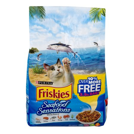 Purina friskies cat food seafood sensations 56 0 oz for Friskies cat fishing
