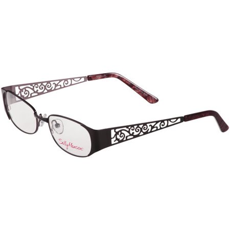 Women s Eyeglass Frames With Crystals : Mcgee Group Inc Sh 21 Black 52 - Walmart.com