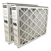 Mechanical MERV 8 Pack of 6 16 Width x 25 Height x 1 Diameter Sterling Seal FI-6501-SP1x6 Purolator Hi-E 40 Extended Surface Pleated Air Filter