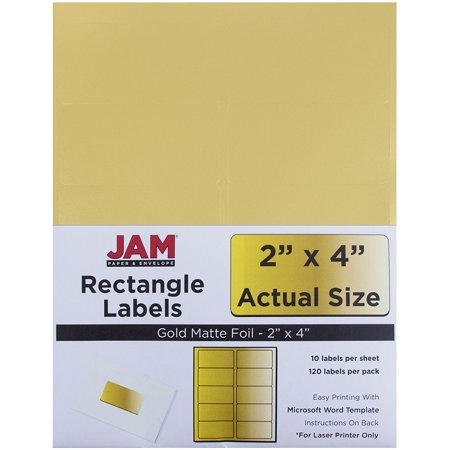 Jam Pot Labels (JAM Paper Mailing Address Labels, Medium, 2