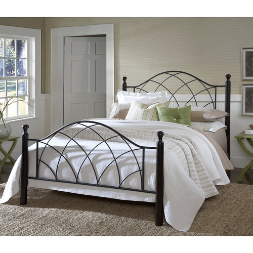 Vista Queen Bed, Twinkle Black