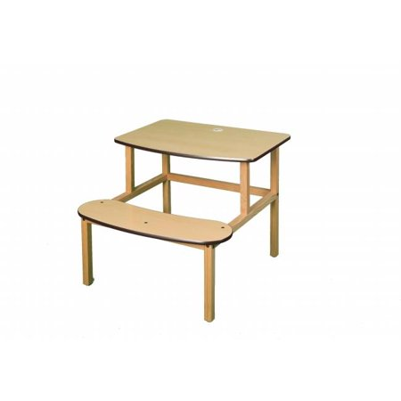 Zoo sauvage de meubles sd MPL-BRN-wz -tudiants Bureau - Maple-Brown - image 2 de 2