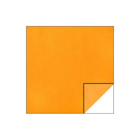 Bo Bunny Double Dot Paper 12x12 Orange Citrus (pack of 25) for $<!---->