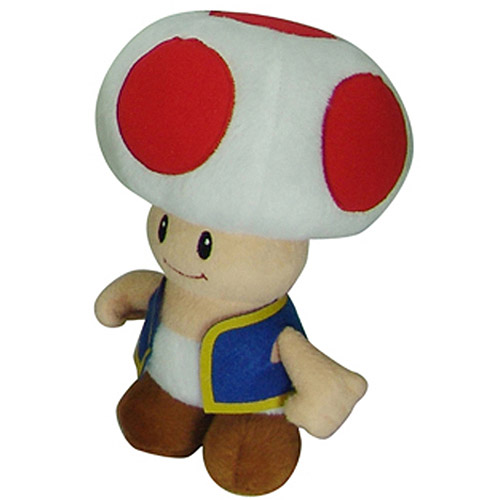 Super Mario Plush, Toad
