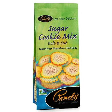 Pamela's Products Gluten Free Cookie Mix, Sugar, 13 - Halloween Soft Sugar Cookie Recipe