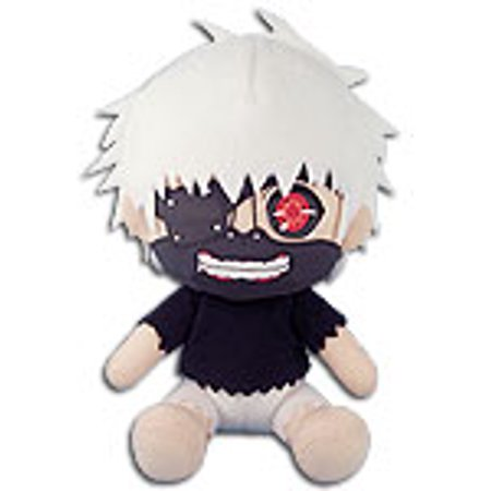 Plush - Tokyo Ghoul - One Eyed Ghoul MASKED 7'' (Kaneki) Toys Soft Doll ge52967 - Ghoul Mask