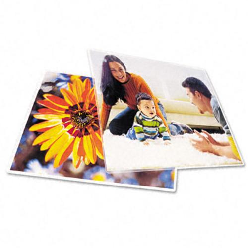 """Gbc Photo Laminating Pouch - 9"""" Width X 11.50"""" Length - 10 / Pack - White (3747324)"""