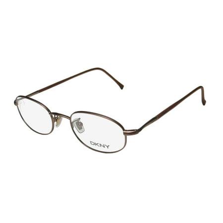 fb263b1b4e New Dkny 6203a Mens Womens Designer Full-Rim Brown Classic Design Casual  Affordable Frame Demo Lenses 48-20-140 Eyeglasses Eyeglass Frame -  Walmart.com
