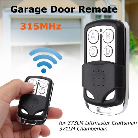 Remote Garage Door Gate 315MHz Fit 373LM Liftmaster Craftsman 371LM Chamberlain