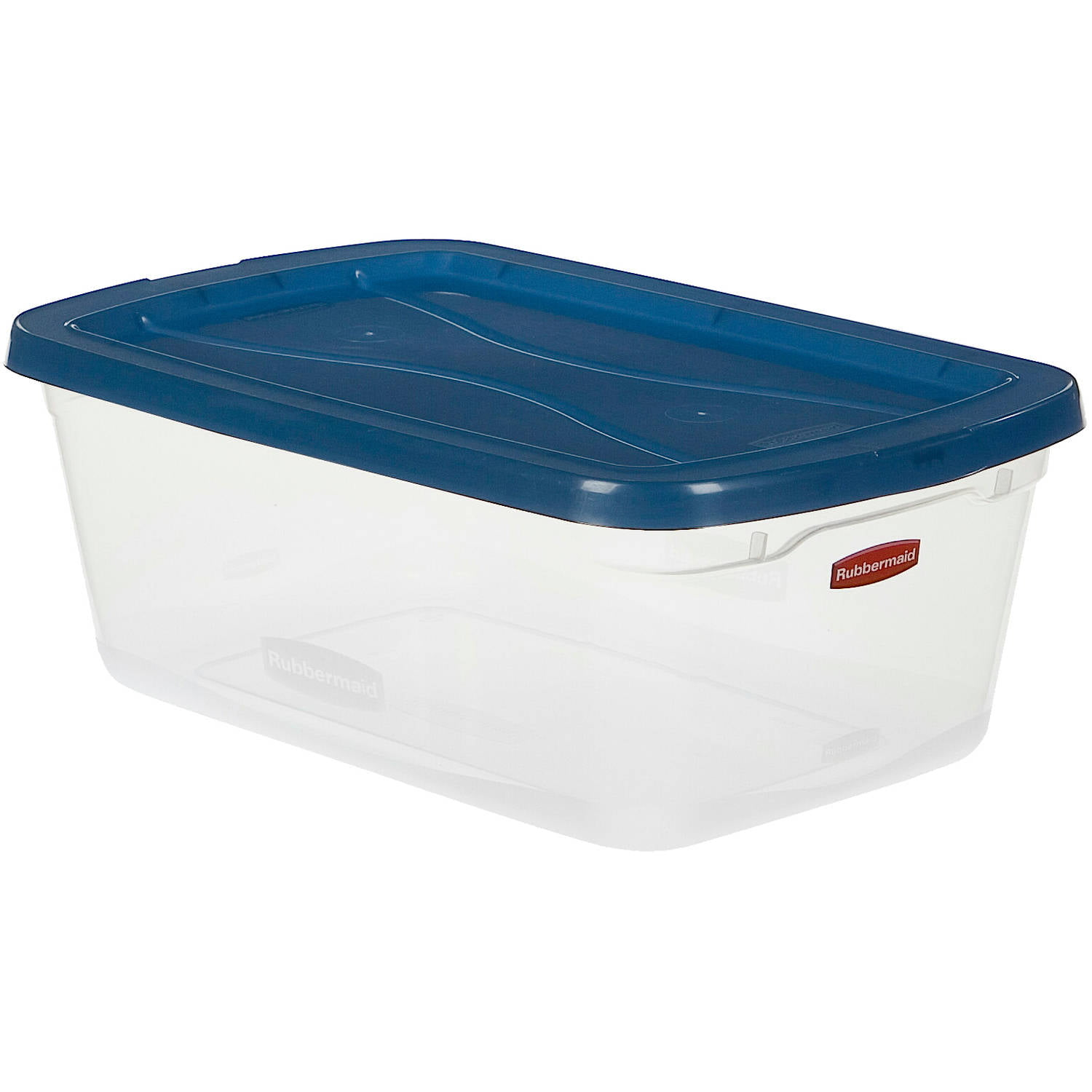 Rubbermaid Clever Store Clears Storage Container 65 qt 10 Pack