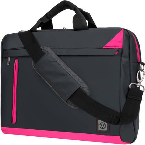 VANGODDY Adler Cushioned Laptop, Notebook, Netbook, Ultrabook Over the shoulder Bag Case fits up to 13 / 13.3 / 15 / 15.6 [Apple, Acer, Asus, HP Samsung, Toshiba, etc]