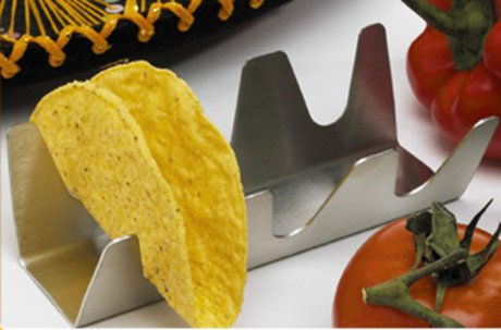 Usa Pan Taco Baking Amp Serving Rack 3 Tacos