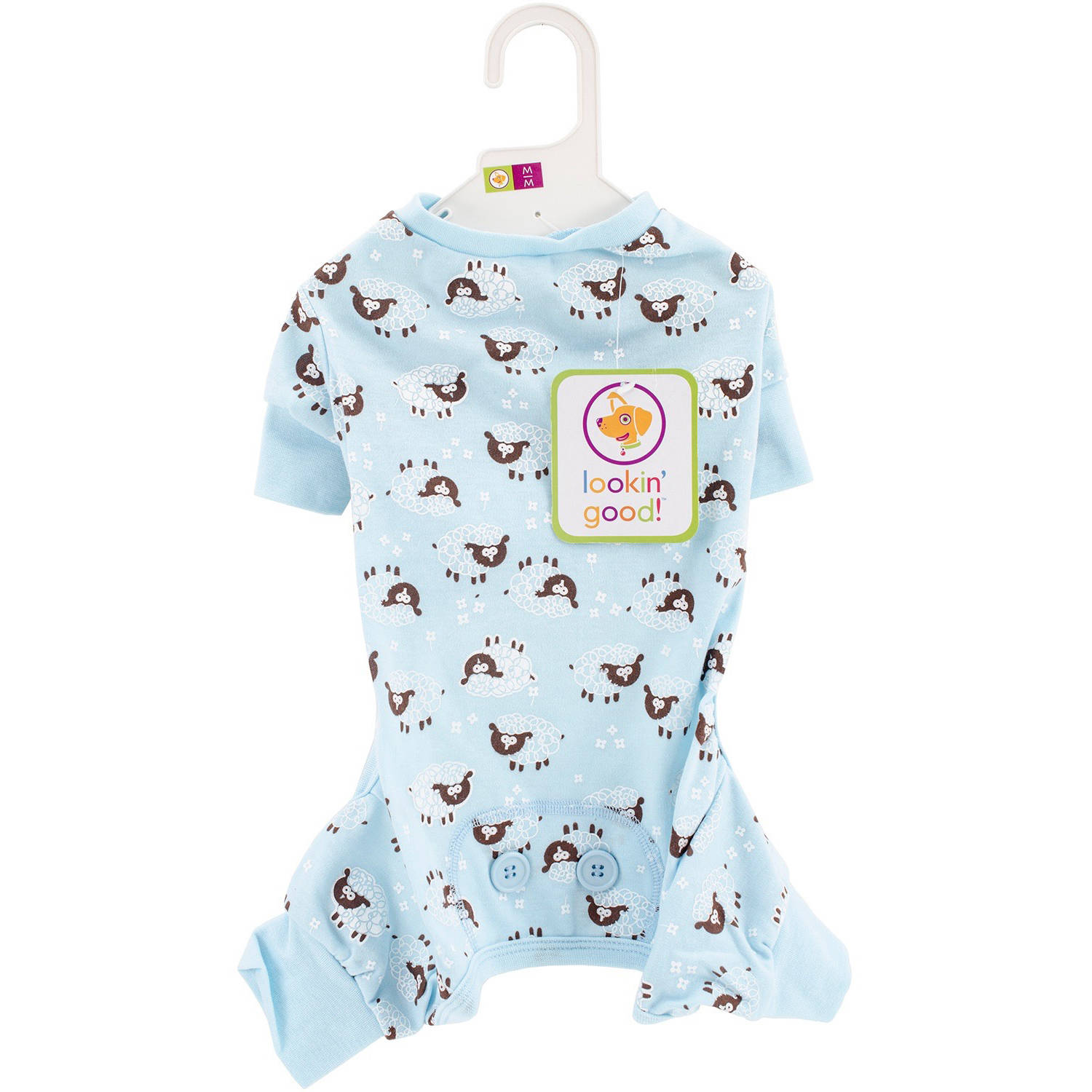 Lamb Print PJs, Medium