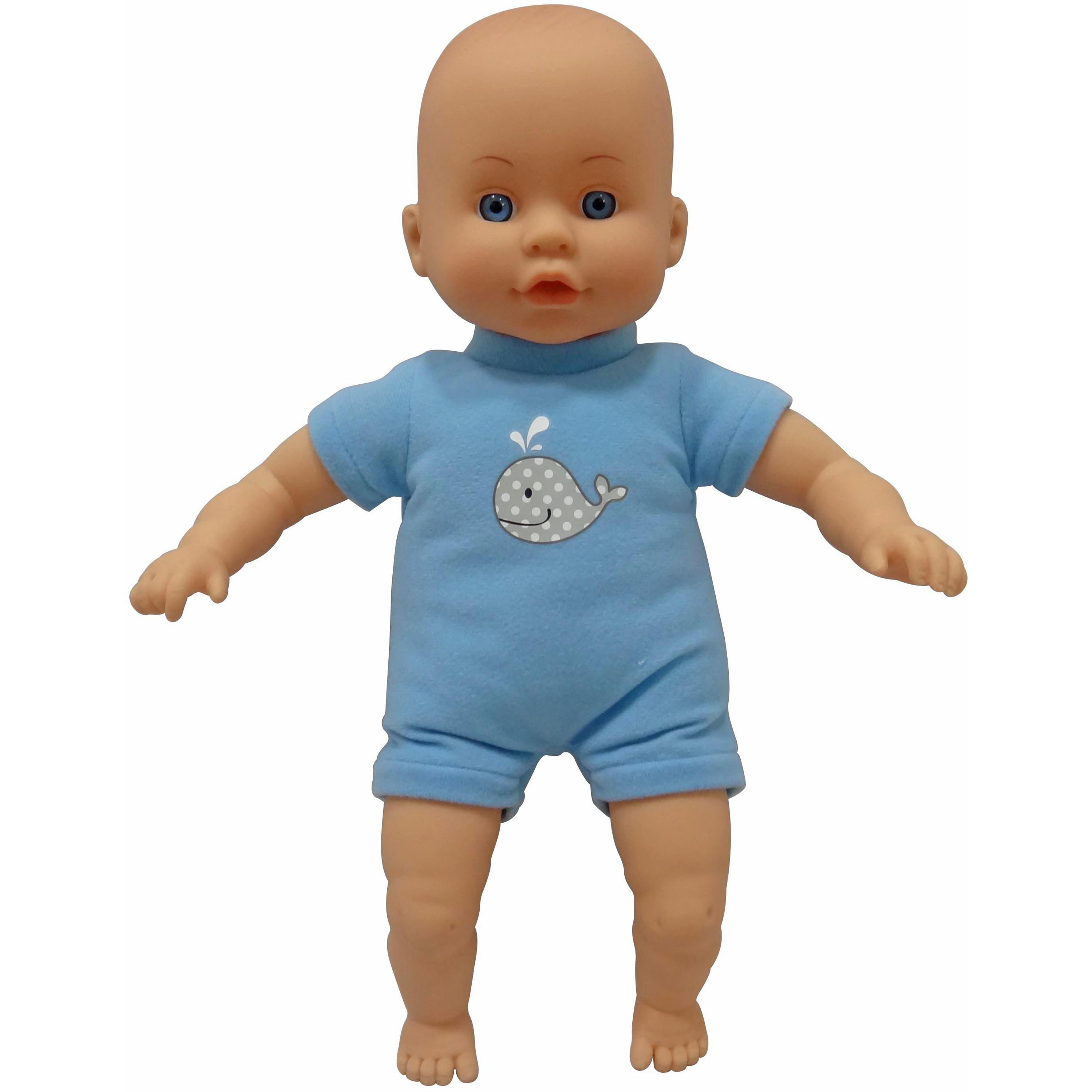My Sweet Love 13-inch Soft Baby Doll, Blue Outfit