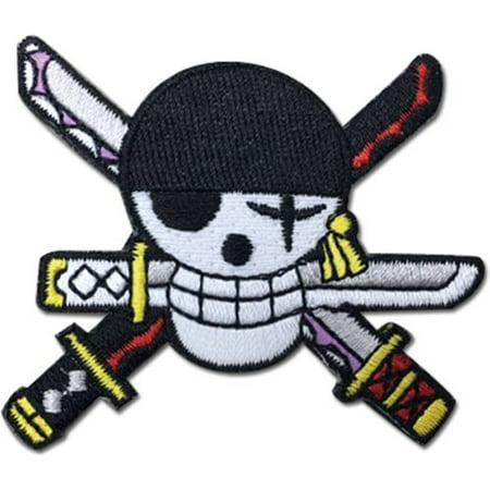 One Piece: Roronoa Zoro Skull Logo Patch
