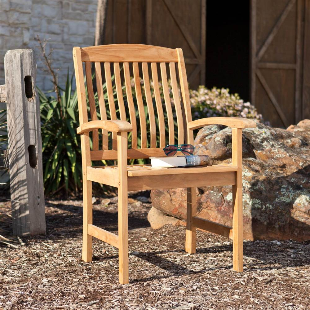 Waverly Teak Arm Chair - Set of 2