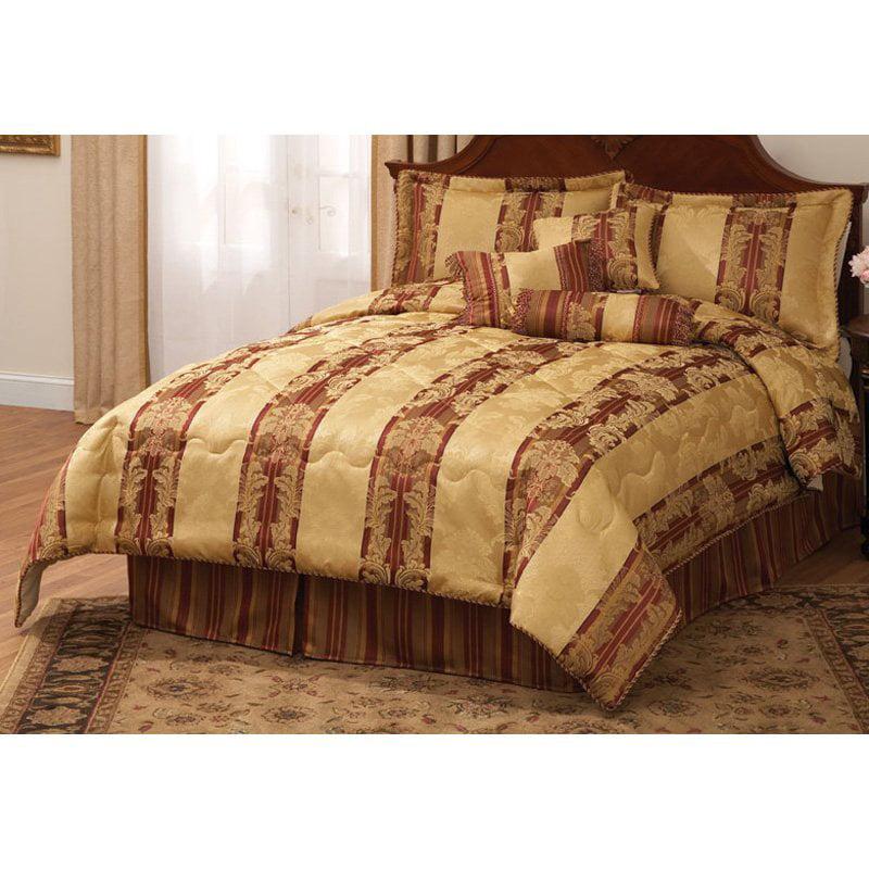 Monroe Dakota Court Comforter Set with Bonus Pillows