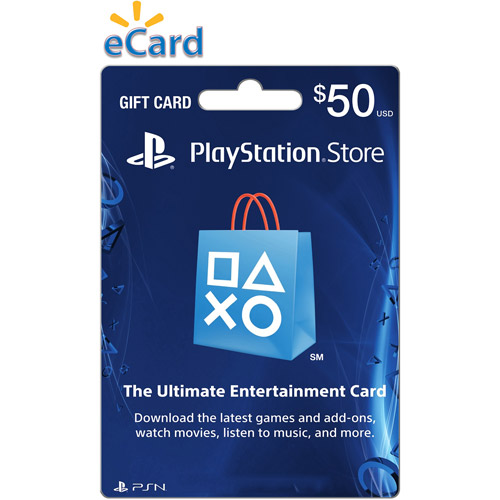 $50 PlayStation Store Gift Card, Sony, [Digital Download], 799366792789