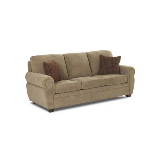 Furniture 12013377482 35 x 37 x 81 in. Westbrook Sofa with Mogo Sage Polyester Upholstery, by Klaussner