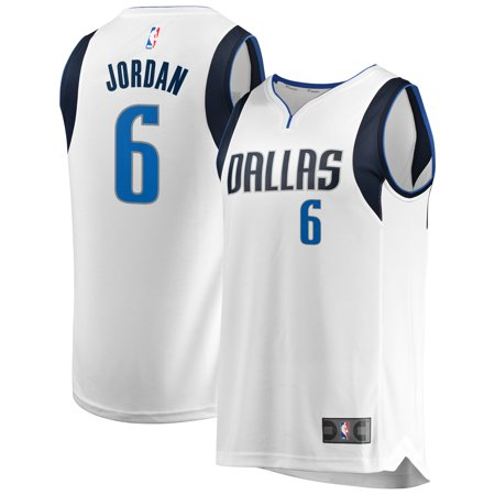 new style f72ea c9b9d DeAndre Jordan Dallas Mavericks Fanatics Branded Fast Break Replica Jersey  - Association Edition - White