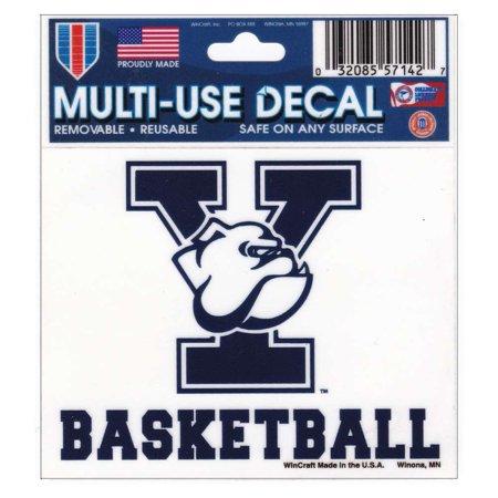 "Yale Bulldogs Decal 3"" x 4"" - Basketball"