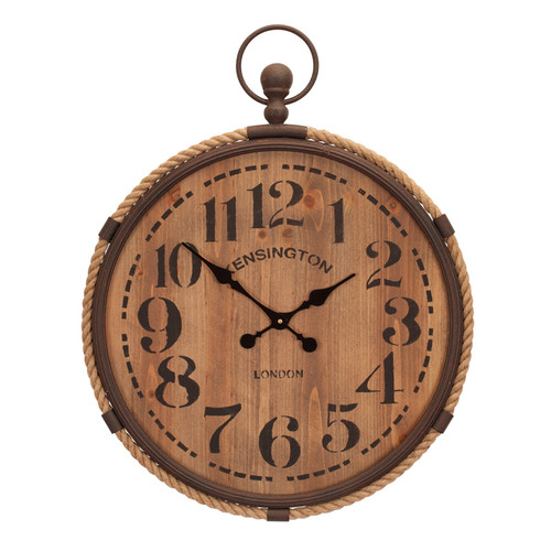 Melrose International Pocket Watch Wall Clock