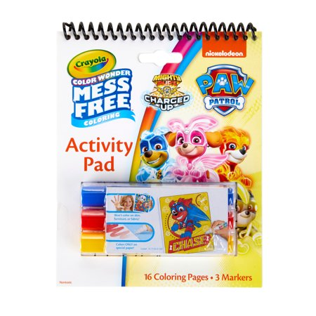 Crayola Color Wonder Paw Patrol Act Pad