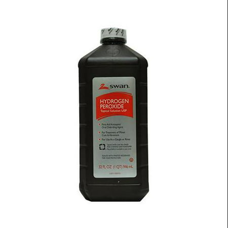 - GREAT LAKES WHOLESALE Hydrogen Peroxide, 3%, 32-oz.