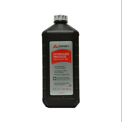 4-Pack Swan Hydrogen Peroxide, 3%, 32-oz.