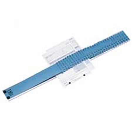 C-Line Products- Inc. CLI30526 All-Purpose Sorter- 2-.50in.x23-.50in.x.75in.- Sky Blue-Platinum